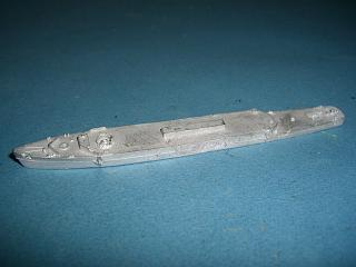 HMS Bristol 1973 Type 82 destroyer hull only