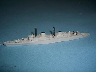 HMS Kent 1960s RN guided missile destroyer vg