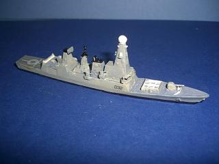 HMAS Tobruk RN Battle class destroyer gr pw